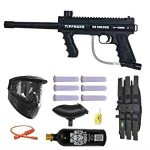 Buy Tippmann 98 Custom PS Paintball Marker Gun 3Skull Mega Set by 3Skull