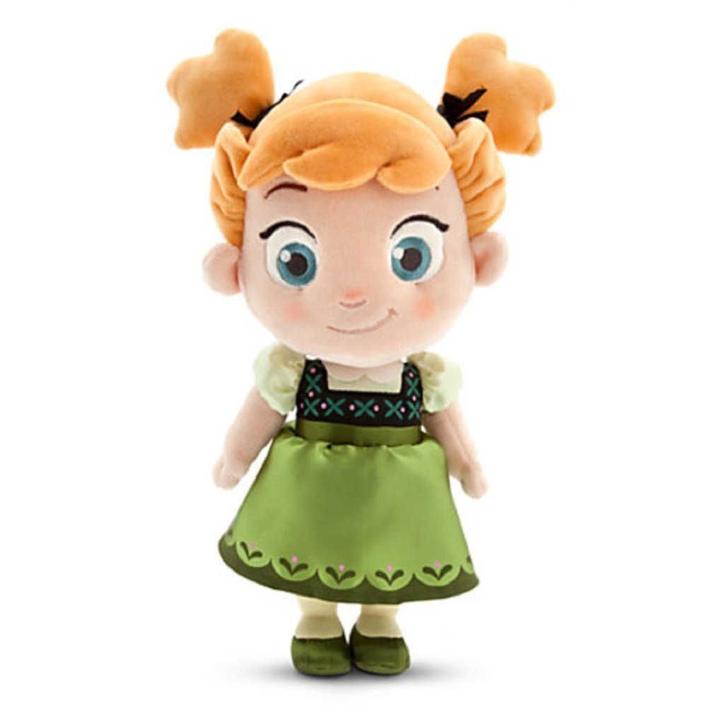 Disney – Die Eiskönigin – völlig unverfroren – Anna als Kleinkind Kuschelpuppe günstig kaufen