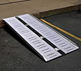 Folding Ramp - BRAMP-SF Series; Unfolded Size (W x L x H): 28