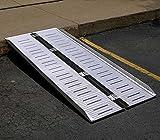 Folding Ramp - BRAMP-SF Series; Unfolded Size (W x L x H): 28
