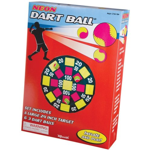 51ZoYuuPGNL Cheap Buy  Toysmith Neon Dart Ball Set #50055