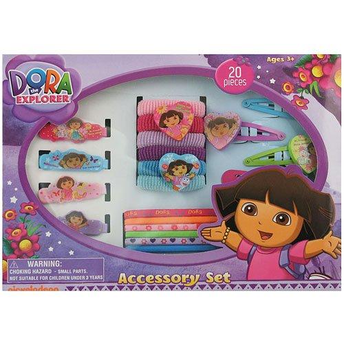 Dora the Explorer 20 Piece Accessory Set - 1