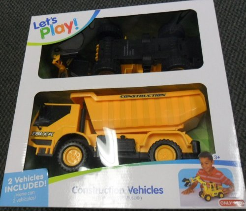 Let's Play Construction Vehicles - 1