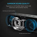 Anker SoundCore Bluetooth Speaker with 24-Hour Playtime, 66-Foot Bluetooth Range & Built-in Mic, Dual-Driver Portable Wireless Speaker with Low Harmonic Distortion and Superior Sound - Black
