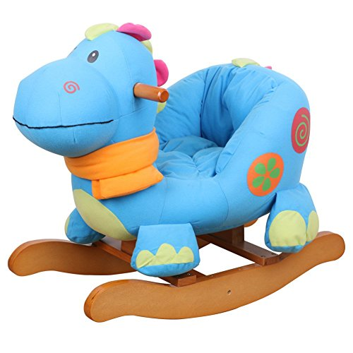Baby Girl Rocking Horse back-623223
