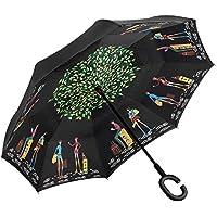 Elover Double Layer Inverted Umbrella