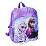 Disney Frozen Anna and Elsa Backpack with Braid