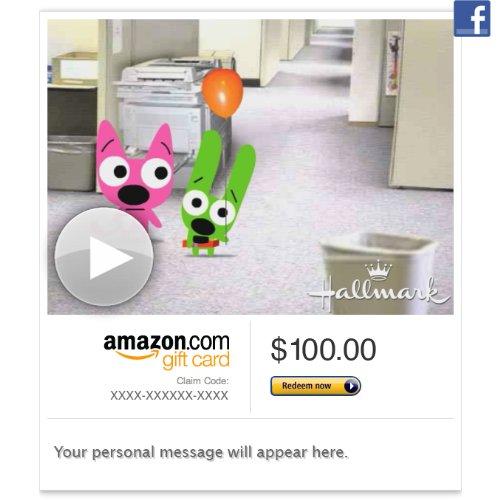 Amazon Gift Card Facebook Hoops Yoyo Missed Your Birthday