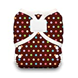 Thirsties Duo Wrap Diaper Cover with Hook and Loop, Polka Dance, Size 1 by Thirsties