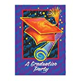Graduation Time Invitations with Envelopes - Pack of 8