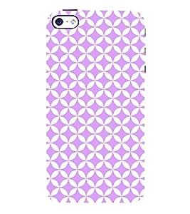 Cosy Purple Diamond 3D Hard Polycarbonate Designer Back Case Cover for Apple iPhone 4
