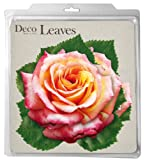 EuroQuest Imports Pink Roses Deco Parchment Leaves, Pack of 20