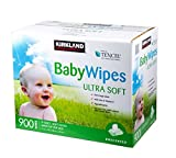 Kirkland Baby Wipes - Unscented - 900 ct