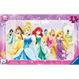 Ravensburger - Puzzle Princesas Disney de 15 piezas (29.7x19 cm) (6048)
