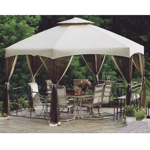 "Dutch Harbor Replacement Gazebo Canopy 174"" W X 150""D X 46.5""H"