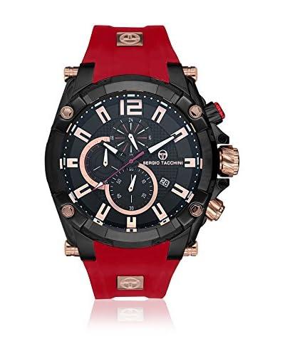 Sergio Tacchini Reloj de cuarzo Man Rojo 58 mm