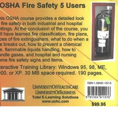 [(OSHA Fire Safety, 5 Users)] [ By (author) Daniel Farb ] [January, 2005]