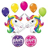 Unicorn-9-pc-Rainbow-Sparkle-Birthday-Party-Balloon-Bouquet