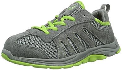 Jack Wolfskin  KIDS PALM SPRINGS, Chaussures de randonnée mixte enfant - Multicolore - Mehrfarbig (parrot green), 31 EU