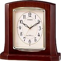 CITIZEN (シチズン) 置き時計 パルロワイエR406 電波時計 木枠 8RY406-006