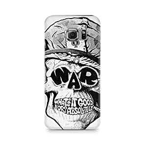 Mobicture Skull Abstract Premium Printed Case For Samsung S6 Edge G9250
