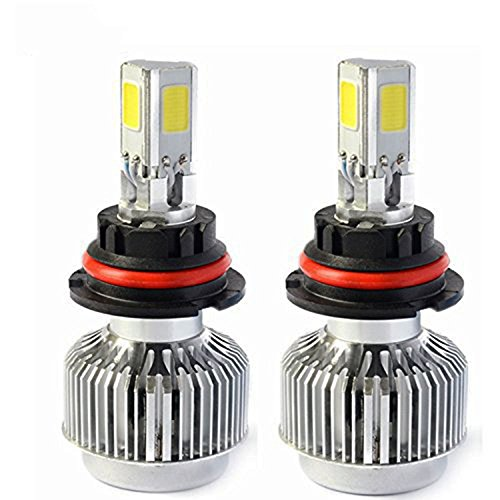 Automotive HB5 9007 72W Hi/Lo Headlight Bulbs LED Conversion Kit Xenon 6000K White Halogen/HID Replacement (Ford Ranger Headlight Bulbs compare prices)