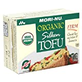 Morinu Organic Firm Tofu, Silken, 12.3-Ounce Packages (Pack of 12)