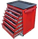 Servante 7 tiroirs avec 184 outils