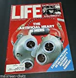 Original Life Magazine from September 1, 1981 - Artificial Heart