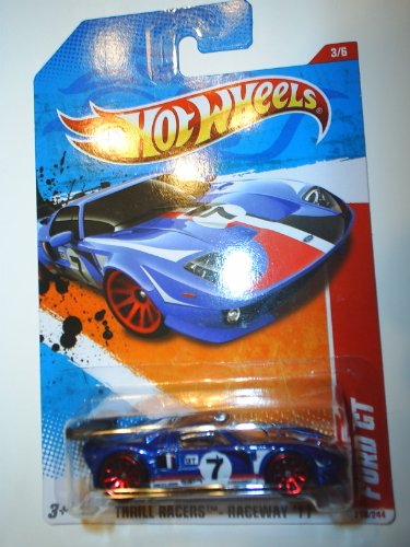 2011 Hot Wheels Ford GT Blue #219/244