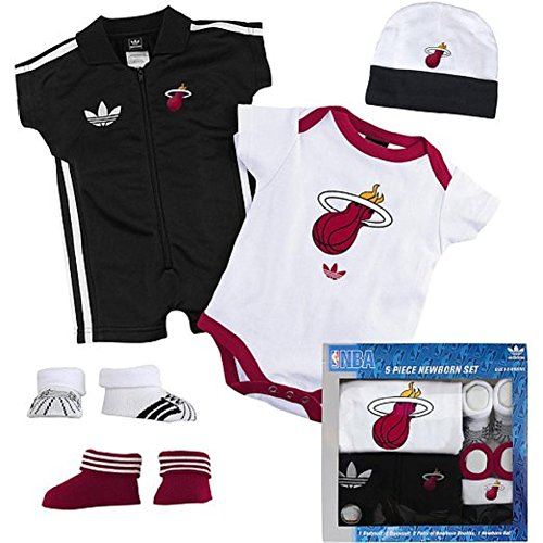 Miami Heat 5 Piece Newborn Set front-17953