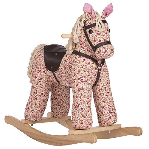 Rockin` Rider Creampuff Vintage Rocking Horse Plush