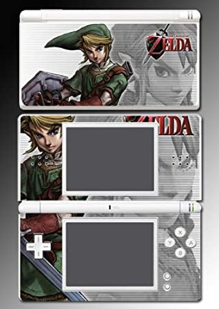Legend of Zelda Twilight Princess Vinyl Decal Cover Skin Protector 2 for Nintendo DS Lite