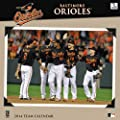 Turner Perfect Timing Baltimore Orioles 2014 Mini Wall Calendar (8040438)