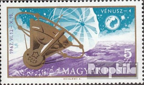 Ungarn 2368A (kompl.Ausg.) gestempelt 1967 Venus 4 (Briefmarken für Sammler)