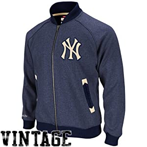 MLB New York Yankees Intrasquad Track Jacket Mitchell Ness Cooperstown Mens LG by Mitchell & Ness