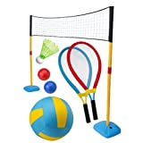 ALEX Toys - Active Play, Gigantic 3 in 1 Net Set for Volleyball, Badminton and Tennis,... by Alex Toys