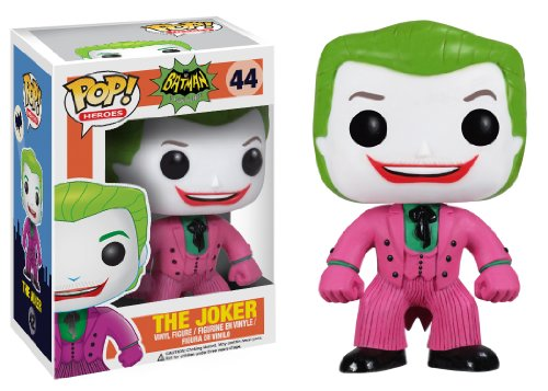Funko POP Heroes Joker 1966 Vinyl Figure - 1