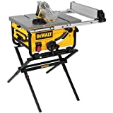 DEWALT DWE7480XA 10-Inch Compact Job Site Table Saw with...