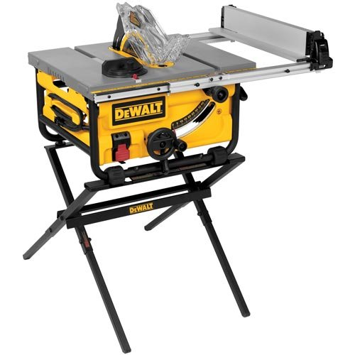 Dewalt dwe7480xa 10 inch compact job site table saw with for 12 dewalt table saw