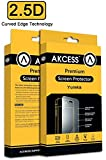 Akcess 2.5 D Curved Tempered Glass Screen Guard For YU Yureka