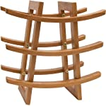 Lipper International Wine Rack, Bamboo