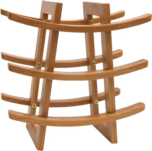 Lipper International 8306 Wine Rack, Bamboo (9 Wine Rack compare prices)