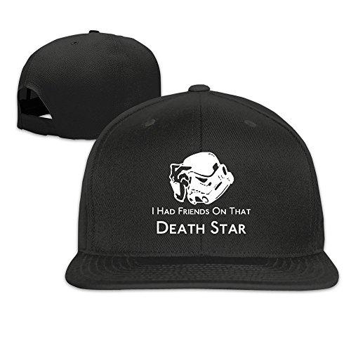 Custom Unisex I Had Friends On That Death Flat Bill Baseball Cap Hats Black