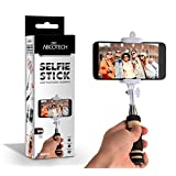 Bluetooth Selfie Stick - Self-portrait Monopod with cell phone clamp - Extendable Wireless Stick and built-in Bluetooth Remote Shutter
