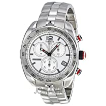 Tissot PRS 330 Chronograph Silver Dial Mens Watch T0764171103700
