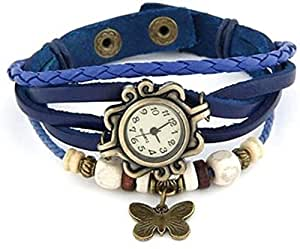 Xeno Butterfly Vintage Women's Analog Watch