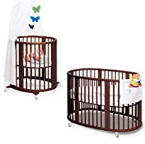 Hot Sale Stokke Sleepi System, Walnut Brown