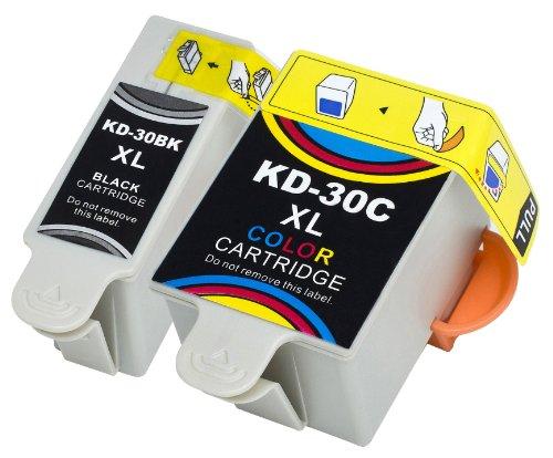 2 Multipack Alta Capacità Kodak Kodak 30 Cartucce Compatibles 1 nero, 1 multicolore compatibile con Kodak HERO 2.2, HERO 4.2, HERO 3.1, HERO 5.1ESP 1.2, ESP 3.2, ESP 3.2s, ESP C110, ESP C310, ESP C315, ESP Office 2150, ESP Office 2170. Cartucce Compatible. © Cartuccia Land
