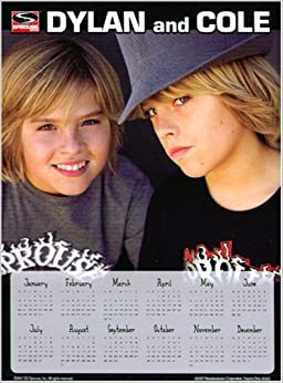 Dylan and Cole 2008 Magnetic Calendar: DC Sprouse: Amazon.com: Books